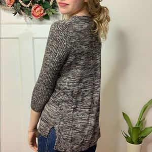 Cable & Gauge Sweaters - Cable & Gauge Grey Heathered Crewneck Sweater